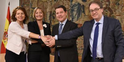 García-Page pide revisar el Pacto de Toledo de pensiones