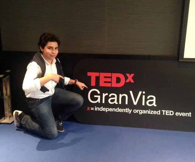 Álvaro Cabo, conferencia de éxito  en TEDxGranVia