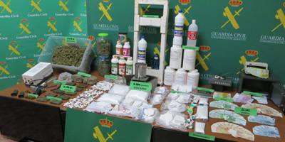 Detienen en Albacete a 17 integrantes de una organización criminal dedicada al tráfico de drogas