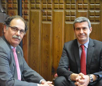 Reunión entre COIIM Toledo y Diputación