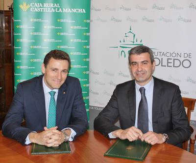Acuerdo entre Diputación y Caja Rural C-LM