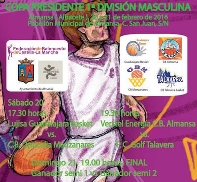 La Copa Presidente espera a Talavera Basket