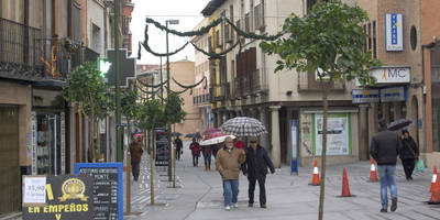 Comerciantes de la Corredera piden compromiso al alcalde