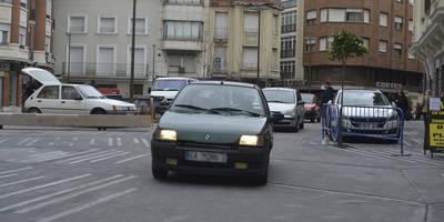 Corredera y Plaza del Reloj abren al tráfico y siguen los trabajos
