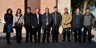 La Diputación de Toledo recibe a una delegación china interesada en los sistemas de riego para cultivo