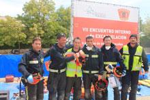 Bomberos de Belvís de la Jara participan en el Campeonato Nacional de Excarcelación en accidentes de Tráfico