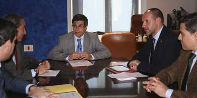 Junta y FEDETO, reunión para un gran acuerdo por Talavera