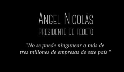 Angel Nicolás (FEDETO):