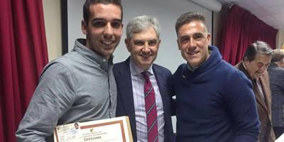 Álvaro Martín y Álvaro Fernández recibieron los diplomas acreditativos de Nivel III