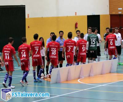 El FS Talavera-Rivas será 'Día de Ayuda al Club'