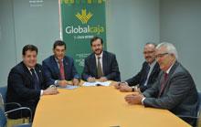 Acuerdo de Globalcaja con la Diputación de Toledo para dar liquidez a los Ayuntamientos de la provincia
