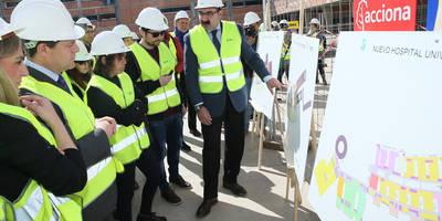 El Gobierno regional destaca la funcionalidad del nuevo Hospital