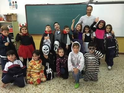 Halloween llegó al Colegio Juan Ramón Jiménez