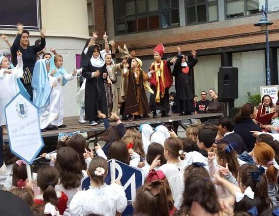 Celebración cristiana de 'Holywins' en las calles