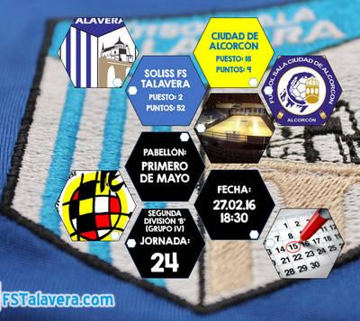 El FS Talavera busca confianza ante el colista