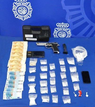 Cae un grupo criminal dedicado a distribuir cocaína