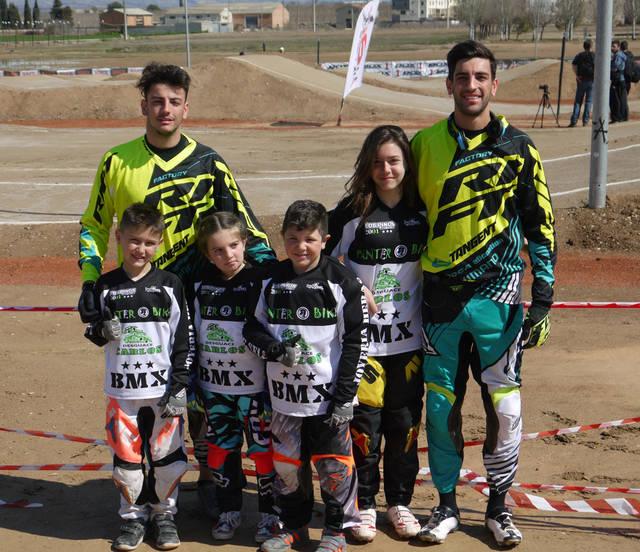 7 trofeos para BMX Los Pinos en la Liga LBR