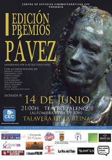 I Edición de los Premios Pávez en el Teatro Palenque de Talavera