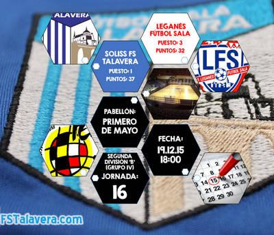 FS Talavera despide 2015 con un duelo de altura
