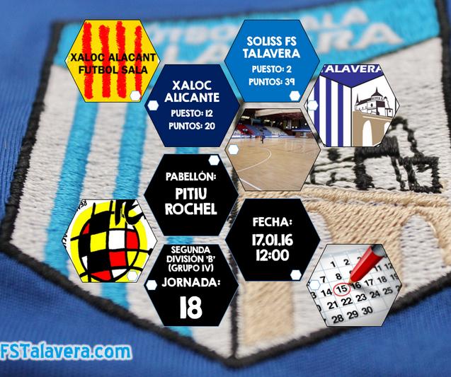 FS Talavera buscará su mejor versión en Alicante