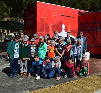 Caravana de Seguridad Vial en el 'Miguel Solana'