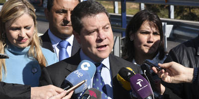 """García-Page: """"Queremos asumir la responsabilidad de gobernar"""""""