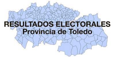 RESULTADOS EN DIRECTO CONGRESO TOLEDO ESCRUTADO 96,52%