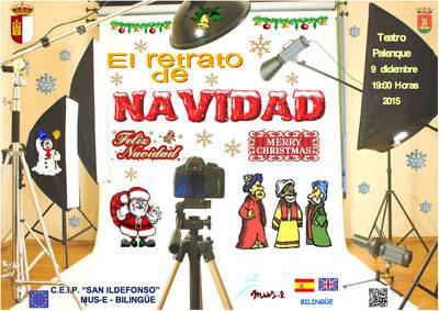 CEIP San Ildefonso trae 'El retrato de Navidad'