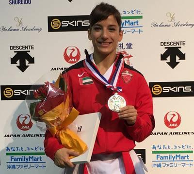 Sandra Sánchez, número uno del circuito mundial