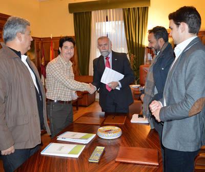 El Ayuntamiento firma un convenio con Tagus