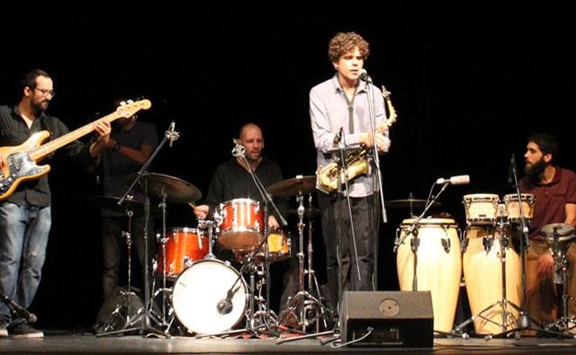 Antonio Lizana, en el XIV 'Festival del Jazz'