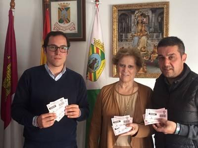 Castillo de Bayuela recibe entradas del CF Talavera