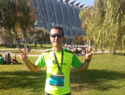 Talavera Training estuvo en la Maratón de Valencia