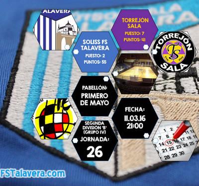 FS Talavera recibe a un Torrejón Sala crecido
