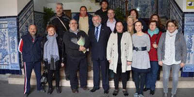 El Ayuntamiento presenta su propuesta de decálogo de los proyectos para la ciudad a los miembros de la Federación de Vecinos 'Vegas del Tajo'