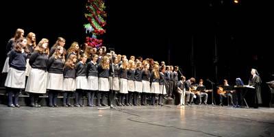 Villancicos colegiales que dan la bienvenida a la Navidad