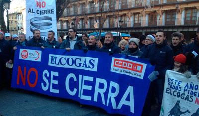 Trabajadores de Elcogas piden en Toledo a la Junta que se implique en la solución al cierre