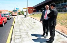 Finalizadas las obras de pavimentación y acerado de la Avenida de Madrid