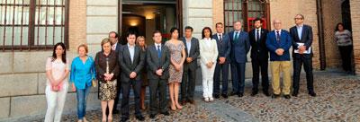 Toledo se une al minuto de silencio por el asesinato de Isabel Carrasco