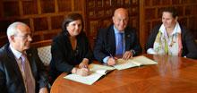 Acuerdo entre el CPEIS y el Ayuntamiento de Ocaña para el Parque de Bomberos
