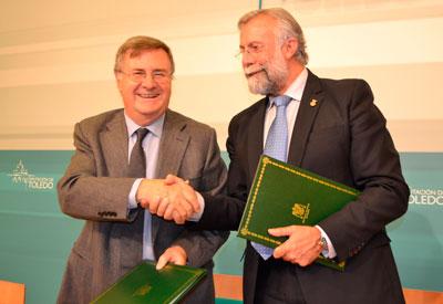 García-Tizón y Jaime Ramos impulsan el turismo comarcal en Talavera