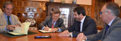 La Diputación convenia con FEDETO ayudas por valor de 50.000 euros