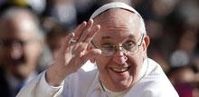 El Papa Francisco, dispuesto a bautizar a extraterrestres
