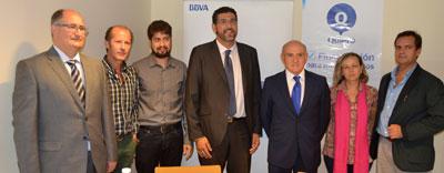 BBVA y la ACT firman un convenio de colaboración financiera para impulsar el comercio local