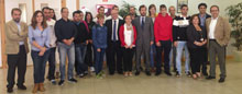 José Luis Rivas visita varias sedes del Dipudinamiza