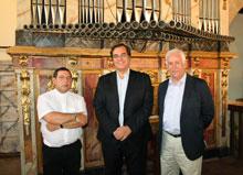 """Jou constata """"el éxito"""" de la I Ruta de Órganos Históricos y anima a asistir a los conciertos de Méntrida e Illescas"""