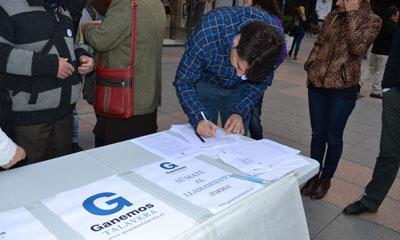 Ganemos Talavera busca el aval de la ciudadanía con 1.500 firmas