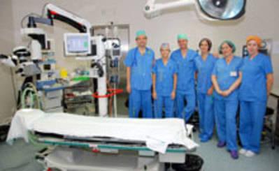El Hospital de Talavera realiza con éxito la primera intervención de retina