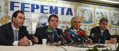 """Page se compromete a crear un gran Mesa de Trabajo por Talavera """"incluyente"""