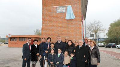 El exalcalde Pablo Tello ya cuenta con su avenida en Talavera